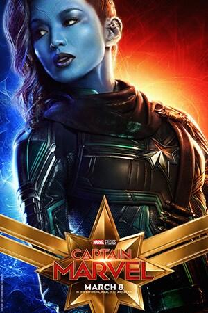 Captain Marvel - Character Poster - Gemma