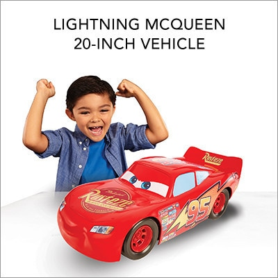 Lightning McQueen 20-Inch Vehicle