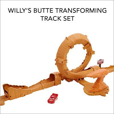 Willy's Butte Transforming Track Set
