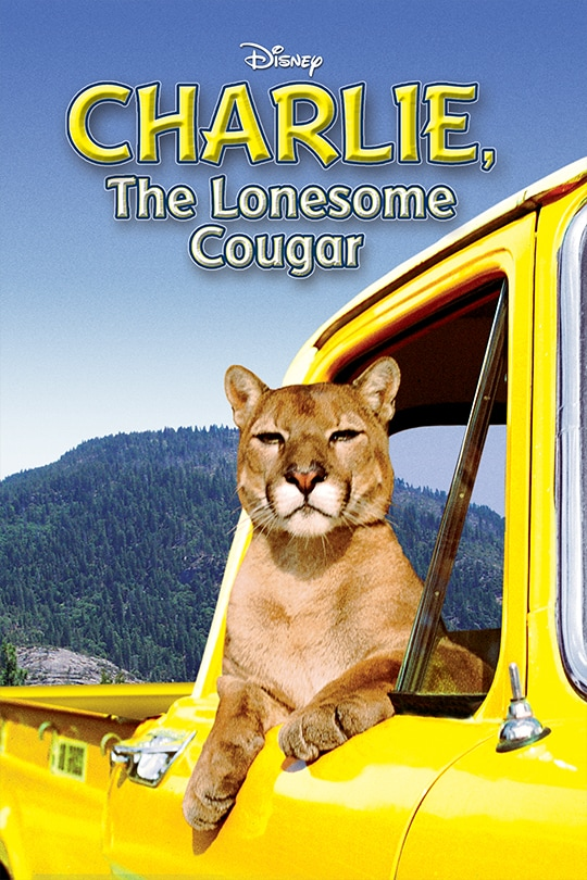 Disney, Charlie, The Lonesome Cougar movie poster