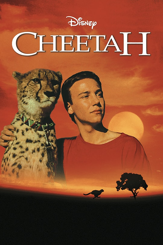 Disney Cheetah movie poster