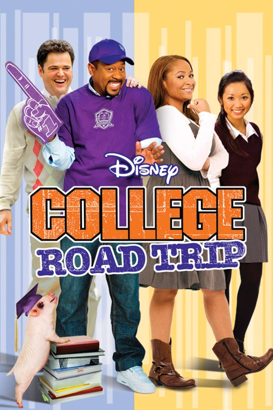 College Road Trip movie poster