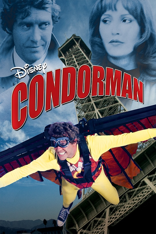 Disney Condorman movie poster