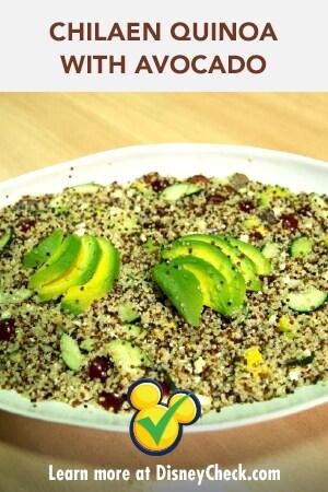 Chilean-Style Quinoa w/ Avocado