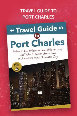 MOS 2019 - Recommended Books - Travel Guide to Port Charles