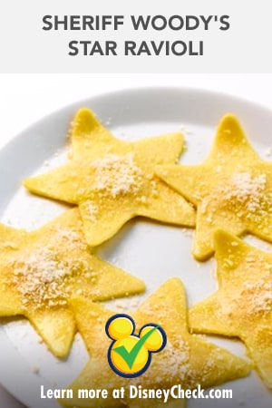 Toy Story 4 -Sheriff Woody's Star Ravioli