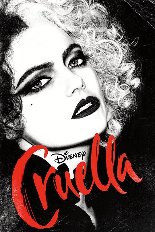 Emma Stone | Disney | Cruella movie poster