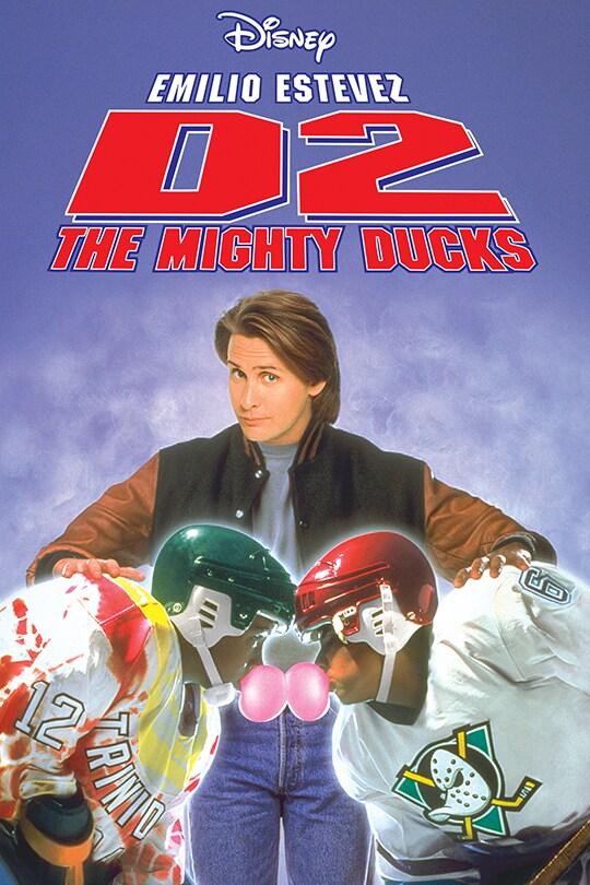 Disney, Emilio Estevez, D2: The Mighty Ducks movie poster