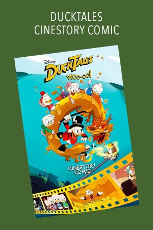 Disney Ducktales: Woo-oo! Cinestory Comic