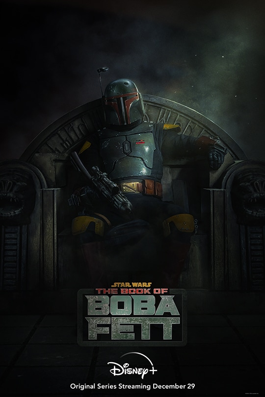 Star Wars: The Book of Boba Fett | Disney+ | Original series streaming December 29 | movie poster