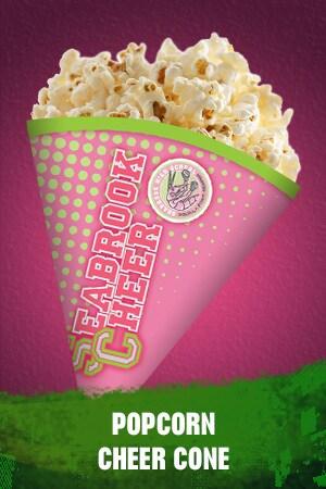 Zombies Popcorn Cheer Cone