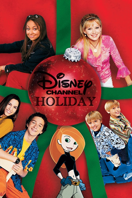 Disney Channel Holiday Movie Poster