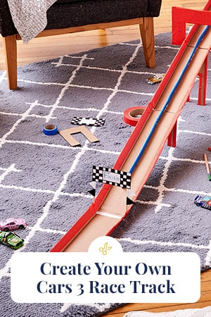 Create Your Own Disney-Pixar Cars 3 Race Track