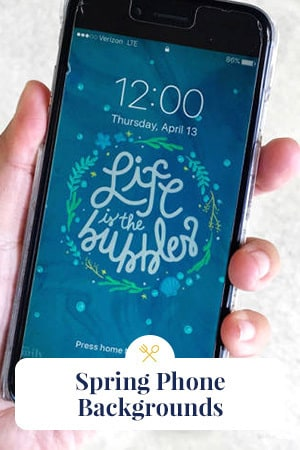 Family Slider - Spring Phone Wallpapers