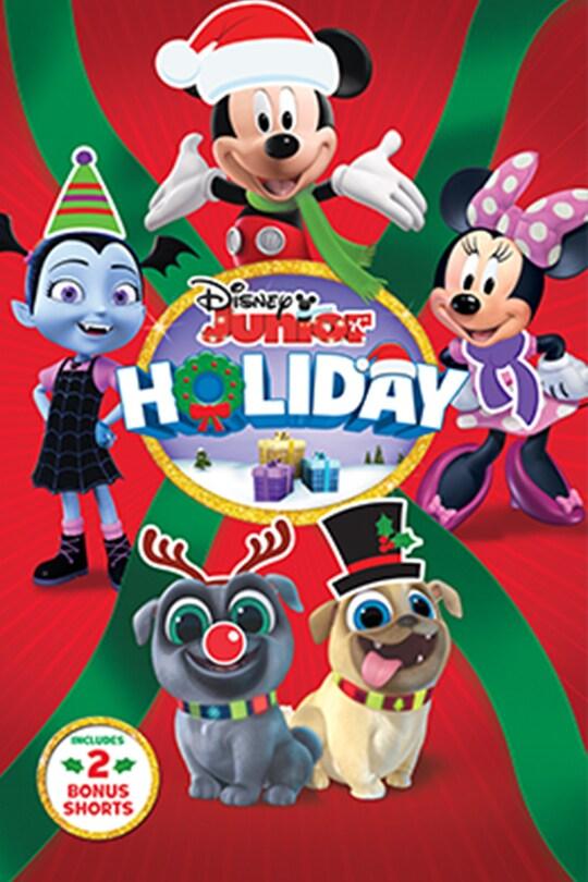 Disney Junior Holiday movie poster | Includes 2 bonus shorts