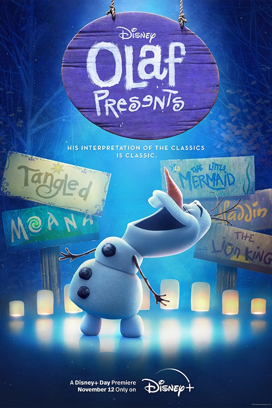 Disney | Olaf Presents | His interpretation of the classics is classic. | A Disney+ Day Premiere November 12 | Only on Disney+