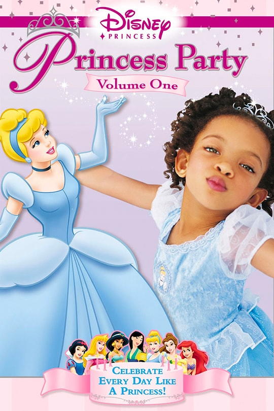 Disney Princess Party: Volume One Movie Poster