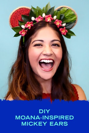 Style Slider - DIY Moana Inspired Mickey Ears