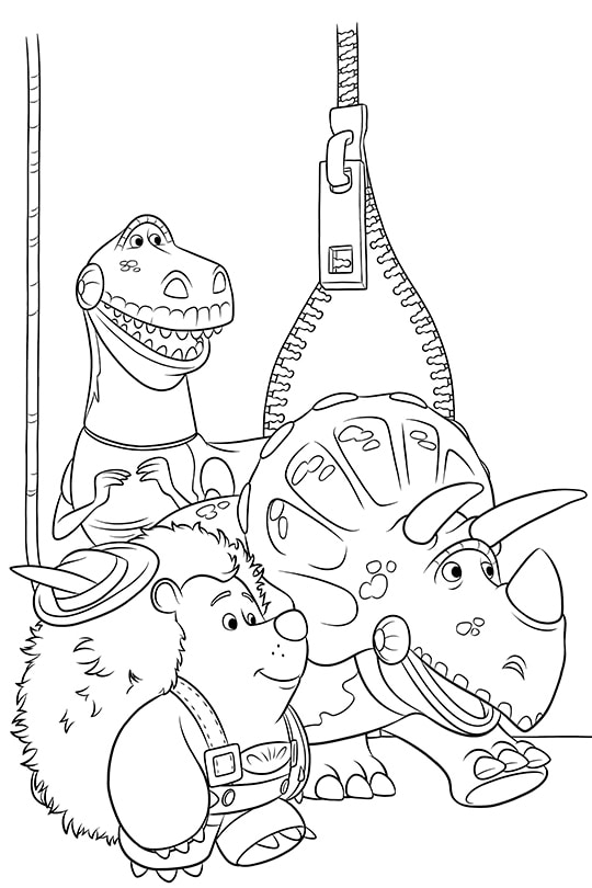 Toy Story Halloween Costumes Coloring Sheet