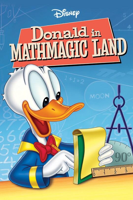 Donald in Mathmagic Land poster