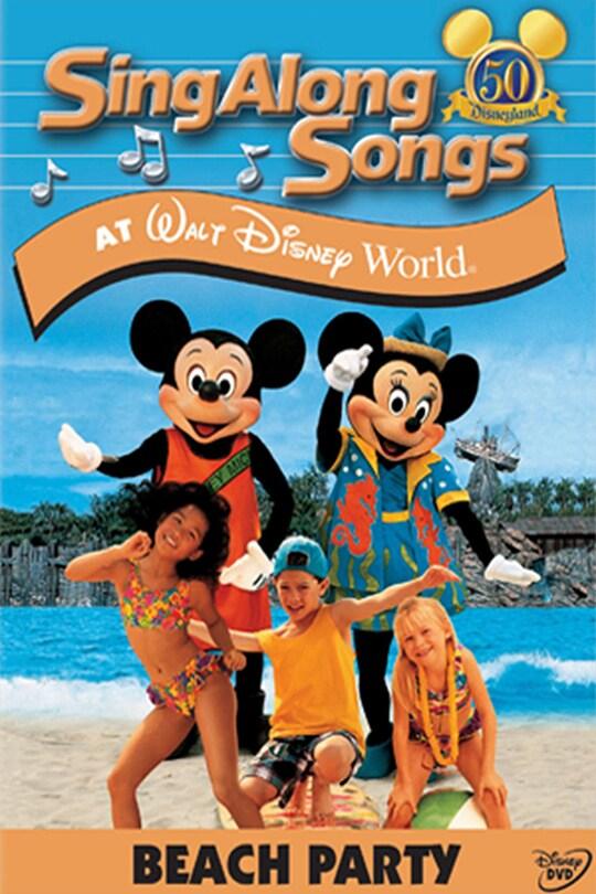 Disney Sing Along Songs: Beach Party at Walt Disney World movie poster