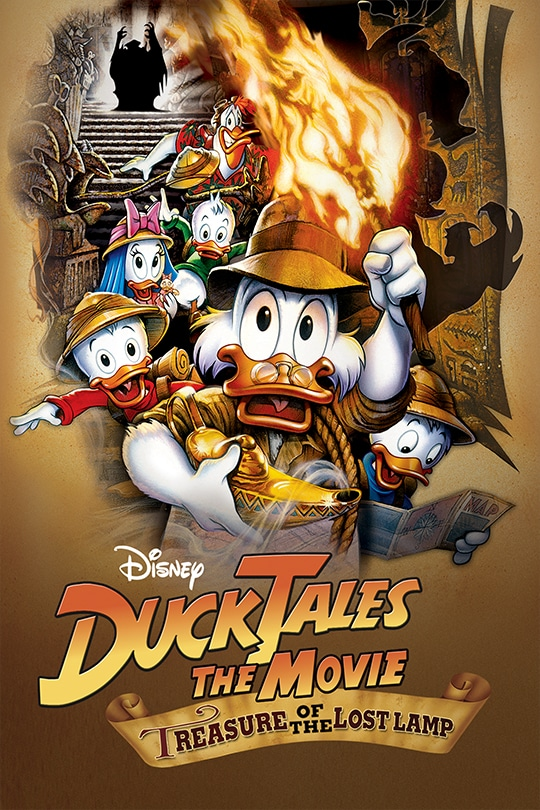 Disney   DuckTakes: The Movie - Treasure of the Lost Lamp movie poster