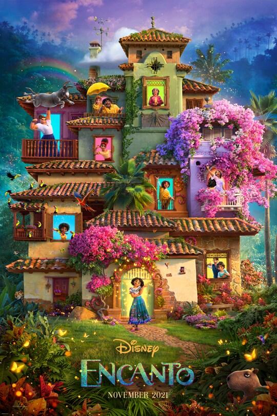 Disney | Encanto movie poster