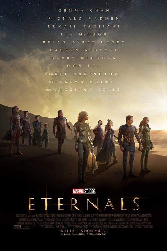 Marvel Studios | Eternals | movie poster