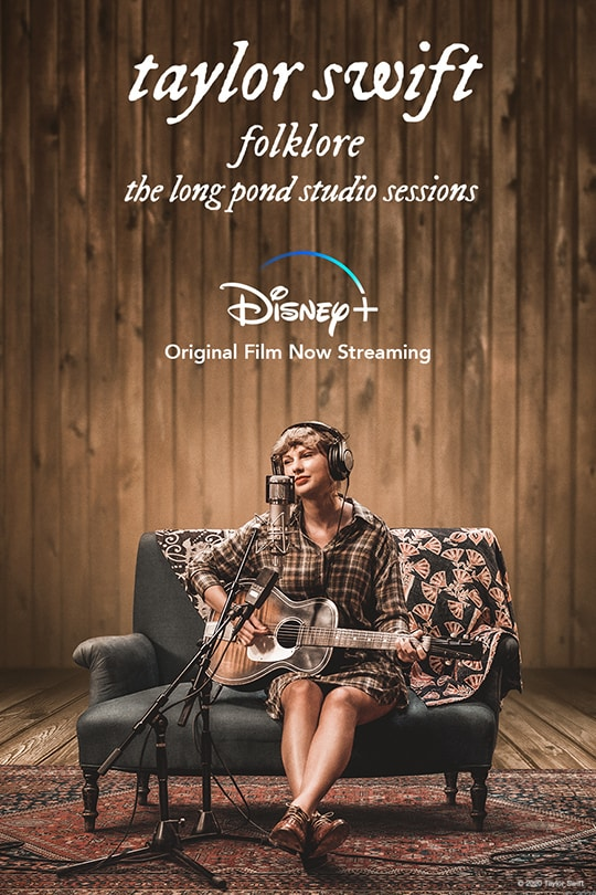 Taylor Swift – folklore: the long pond studio sessions | movie poster