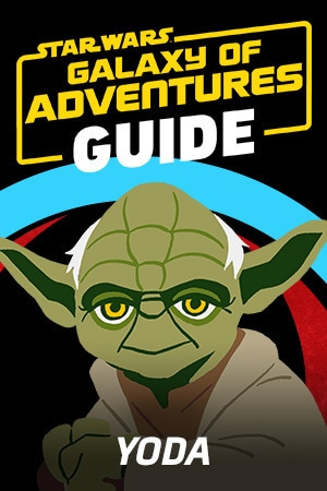 Star Wars Galaxy of Adventures Guide - Yoda