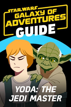 Star Wars Galaxy of Adventures Guide - The Jedi Master