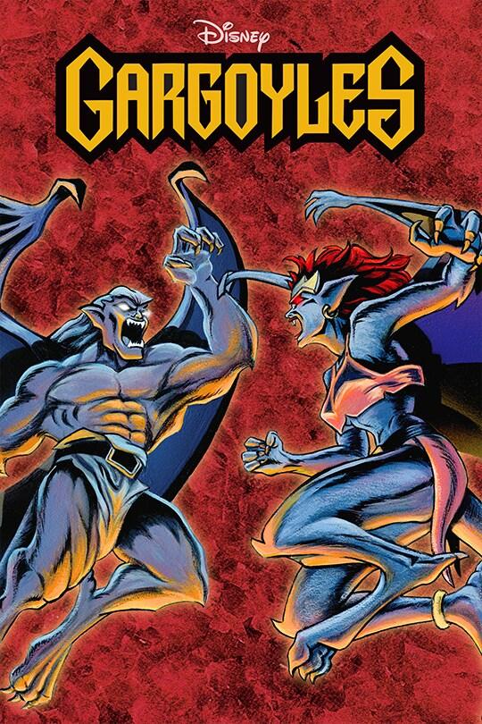 Disney Gargoyles poster