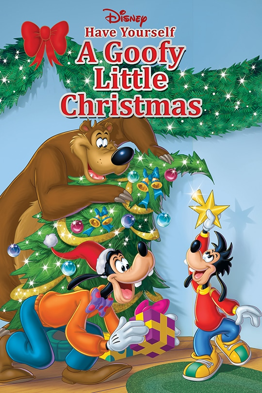 Disney Have Yourself A Goofy Little Christmas poster