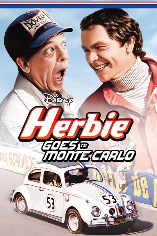 Disney Herbie Goes To Monte Carlo movie poster