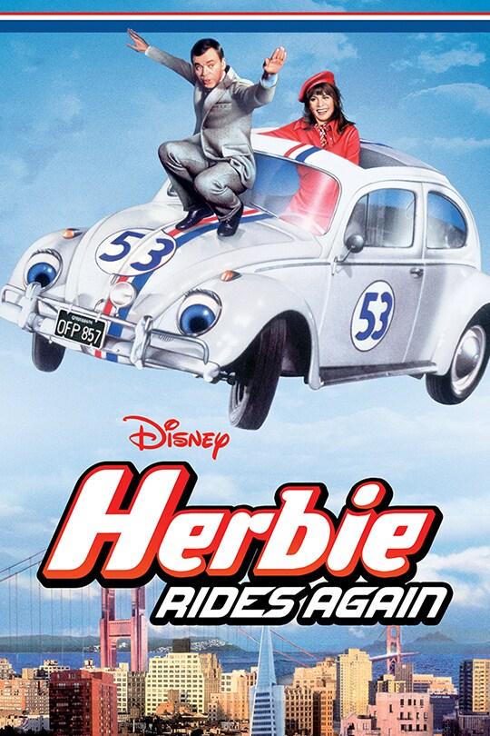 Disney Herbie Rides Again movie poster