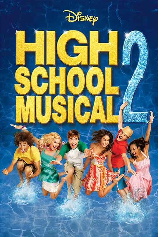 Disney High School Musical 2 movie poster