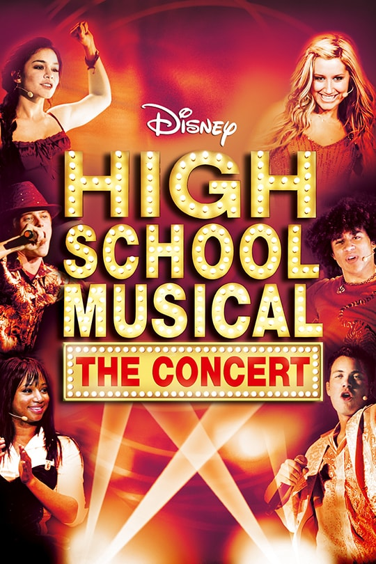 High School Musical: The Concert poster