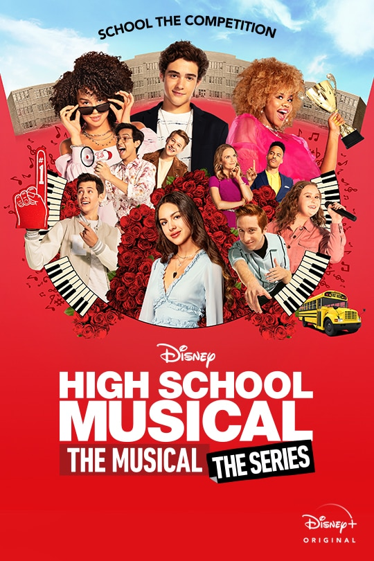 School the Competition | Disney | High School Musical: The Musical: The Series | Disney+ Original | movie poster