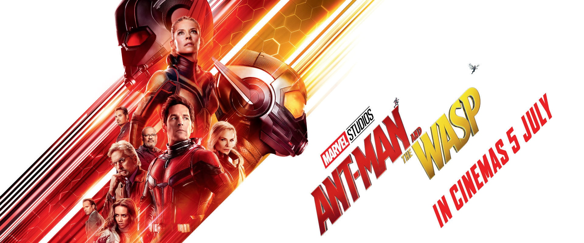 Marvel Studios' Ant-Man and the Wasps - EMEA Banner