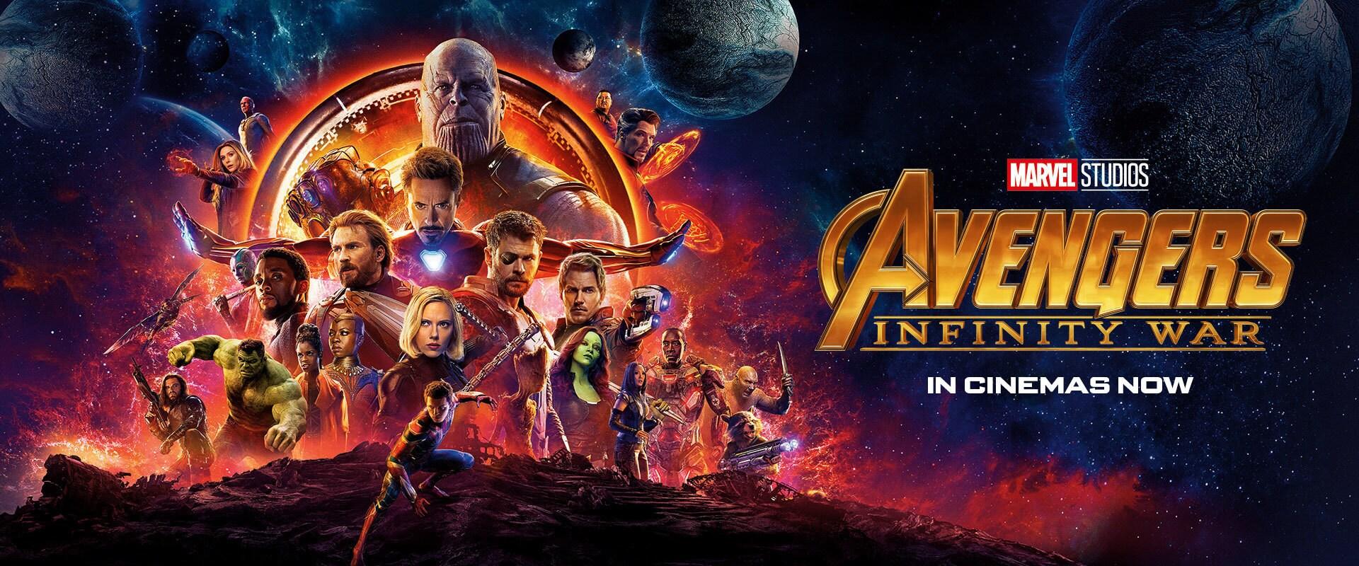 Avengers: Infinity War - Emea Banner