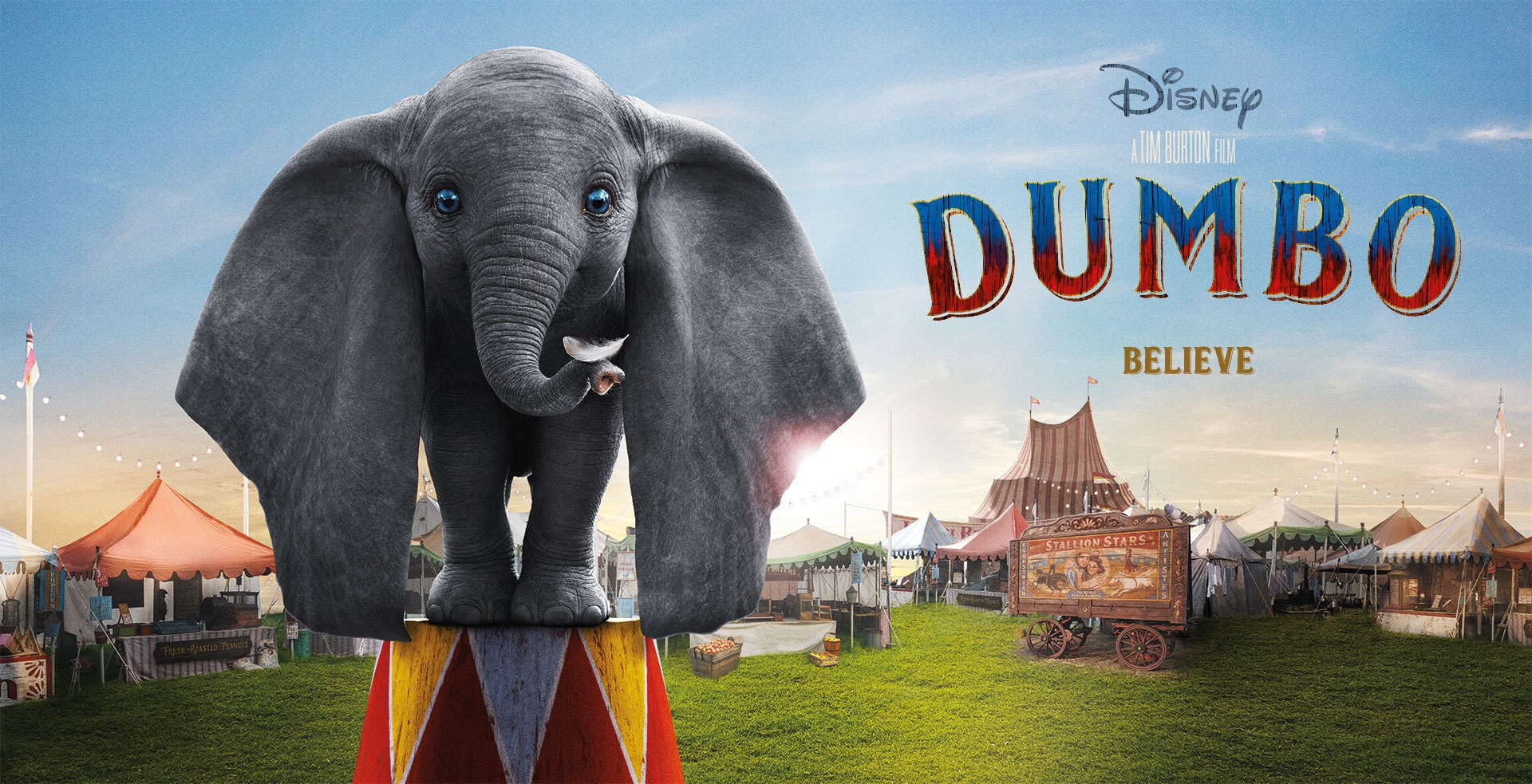 Disney's Dumbo - Banner Hero Object - video