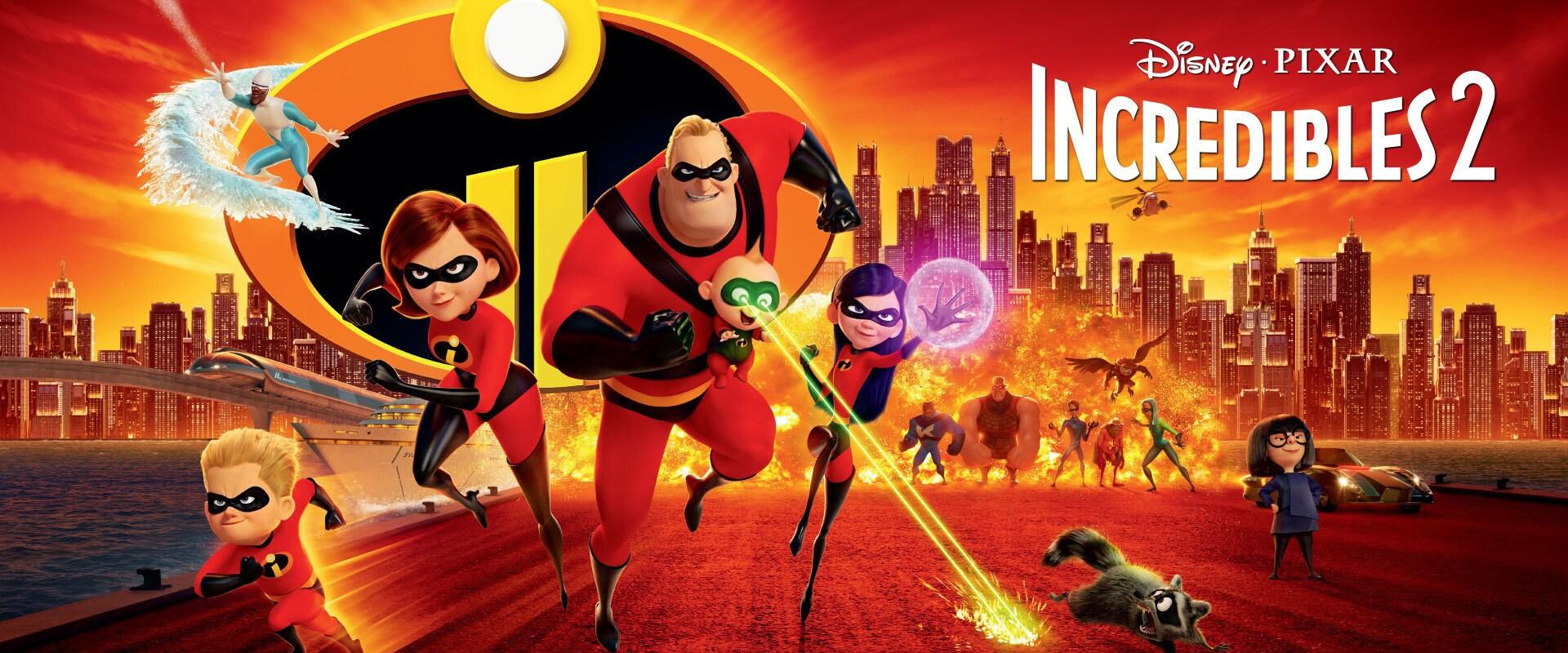 The Incredibles 2 - Emea Banner