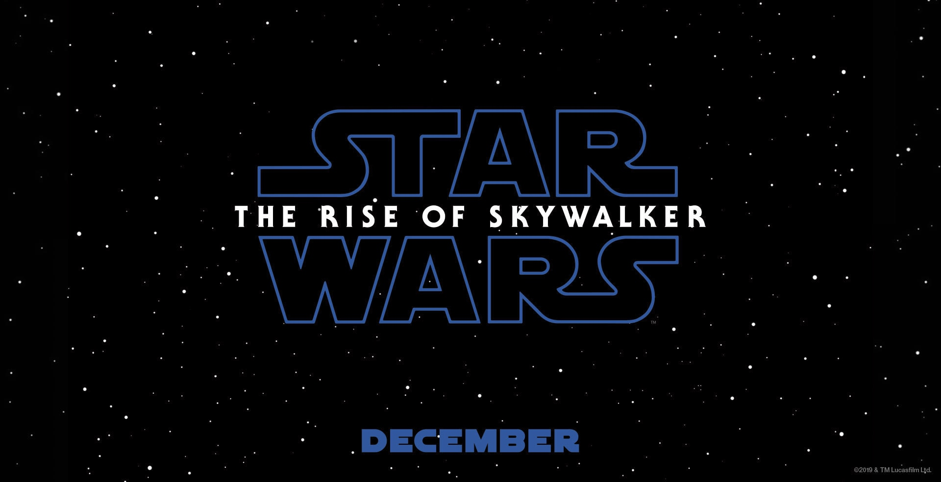 Star Wars Episode IX: The Rise of Luke Skywalker - Banner Hero Object