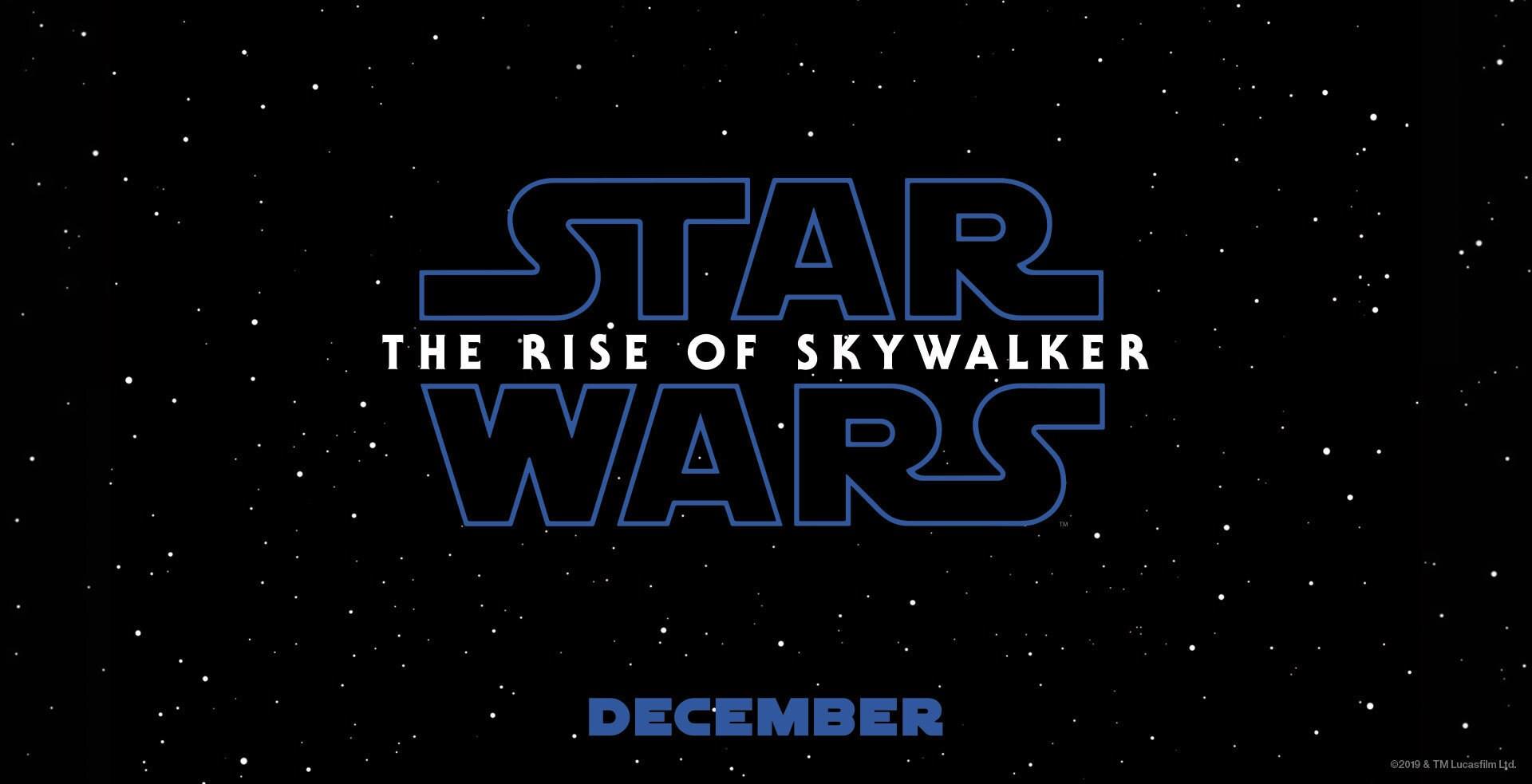 Star Wars Episode IX: The Rise of Luke Skywalker - Banner Hero Object
