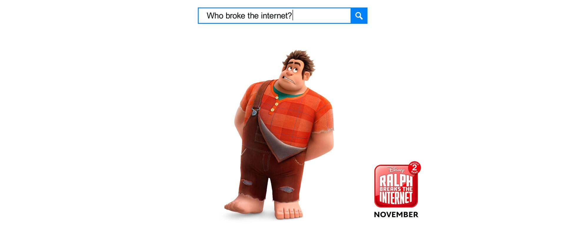 Ralph Breaks the Internet - Wreck it Ralph 2 - EMEA Banner