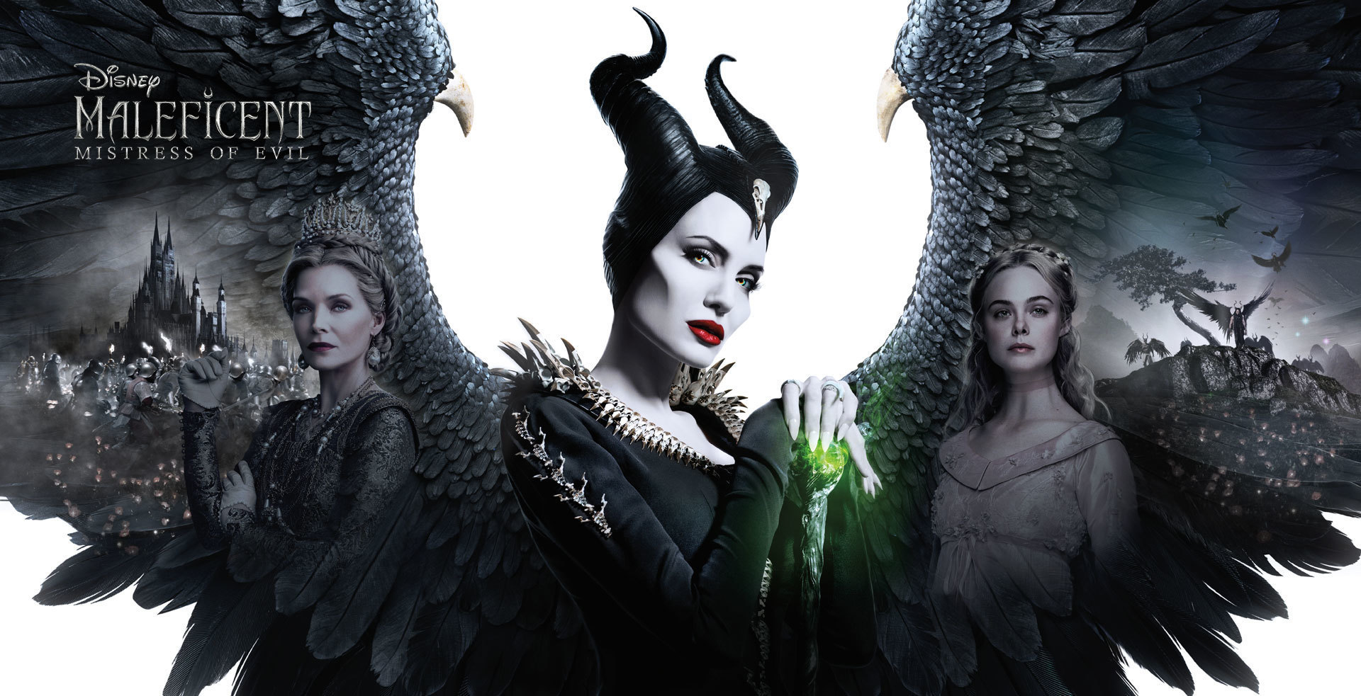 Disney's Maleficent: Mistress of Evil - Banner Hero Object