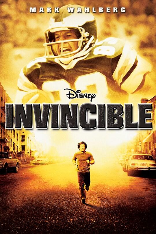 Mark Wahlberg | Disney | Invincible poster