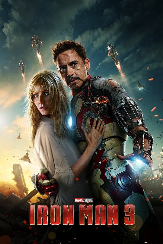 Ironman 3 Movie Poster