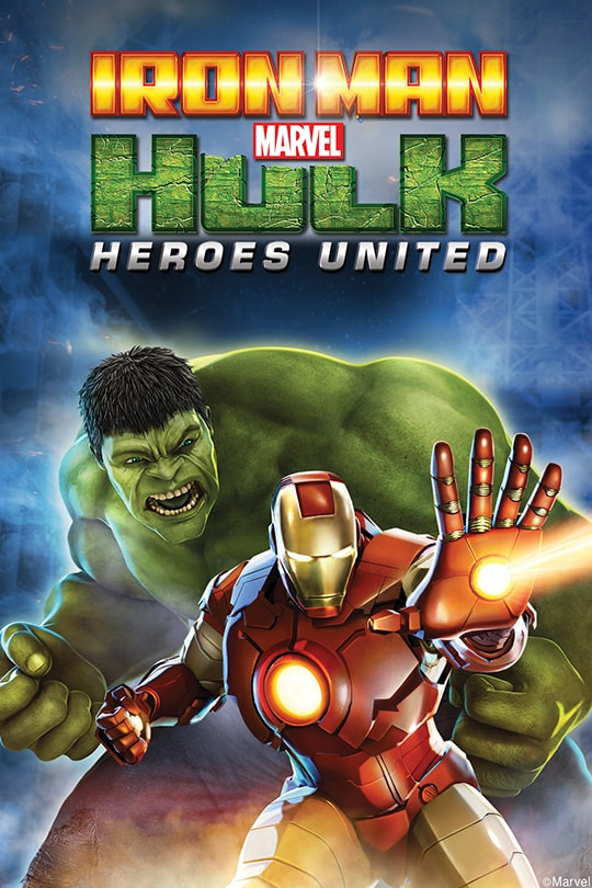 Marvel | Iron Man & Hulk: Heroes United poster