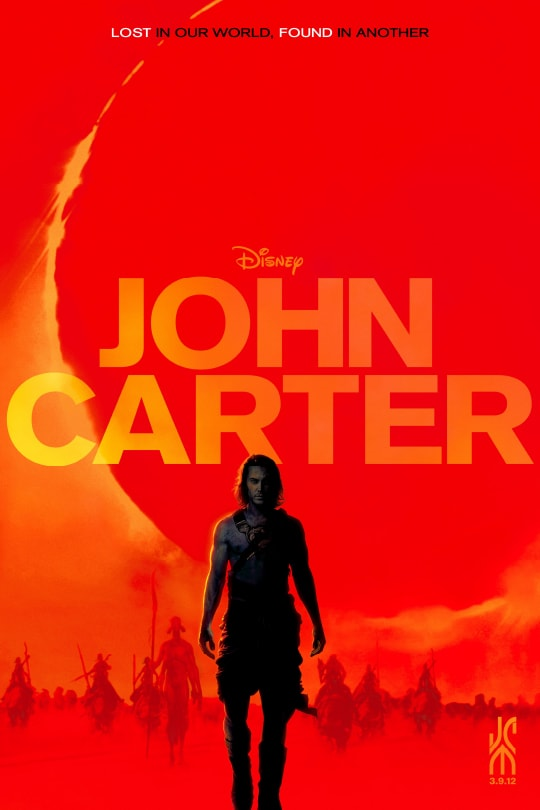 Disney | John Carter movie poster